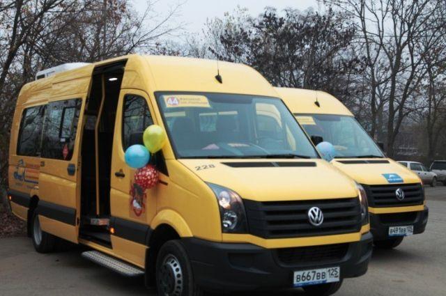 Новые автобусы заняты на перевозках пассажиров Владивостока.