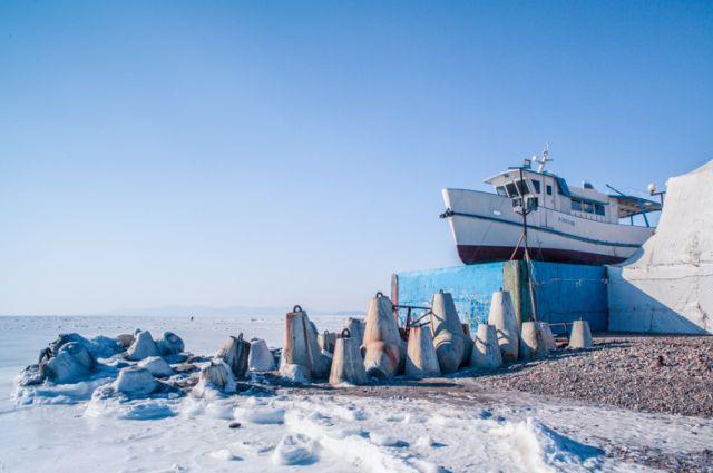 Морозный февраль во Владивостоке