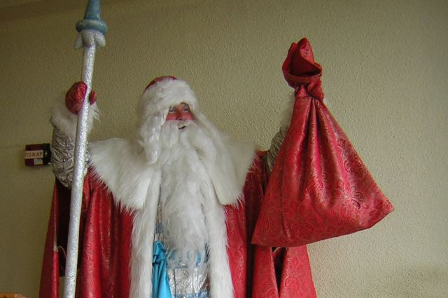 Виталий Доля служит Дед Морозом уже 12 лет.