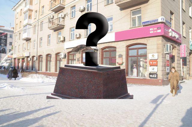 Именно здесь должна появиться скульптура маленьких ленинградцев.