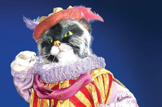 В произведениях искусства десятая жизнь кошек.