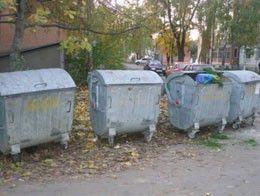 Подозрительные объекты лежали рядом с мусорными баками.