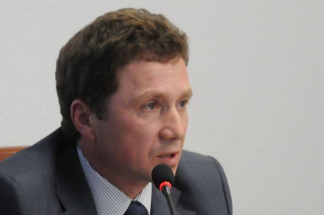 Михаил Берман, бывший гендиректор аэропорта.