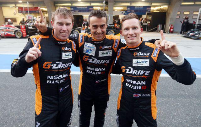 Команда G-Drive Racing.