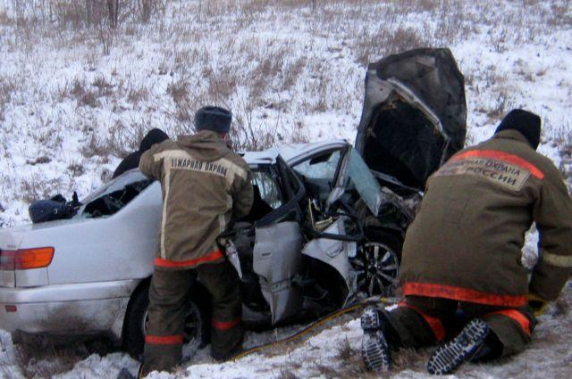Авария на трассе под Омском унесла жизни пяти человек.