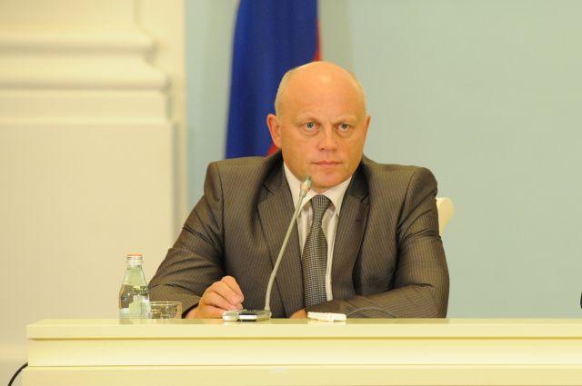 Виктор Назаров, омский губернатор.