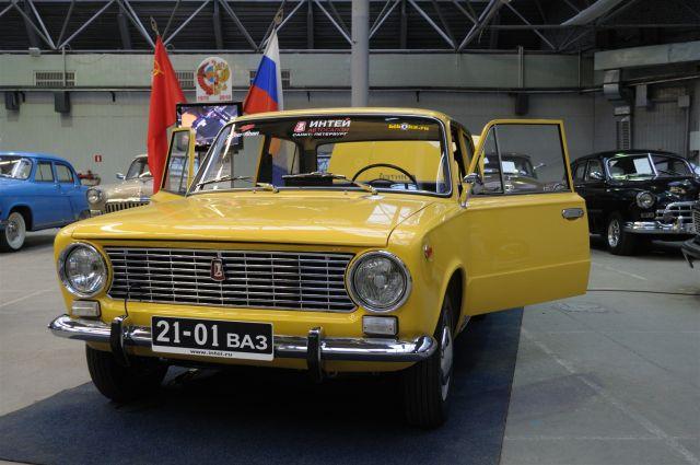 Так выглядит ВАЗ-2101.