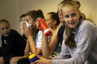 Марина Бондарева, капитан молодежной команды.