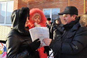 Юрий Гамбург  в Калачинском районе.