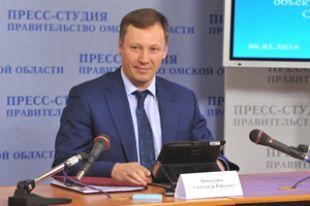 Александр Винокуров, глава Омского Минэкологии.