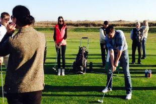 На Дону  традиционный гольф-турнир для представителей СМИ «Летят утки» проводится уже шесть лет.