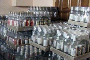 В Ростове  из ларька изъяли больше полтонны алкоголя.