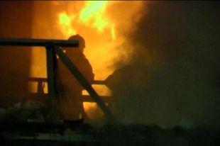 В Ростове сгорел ангар завода «Электробытмаш».