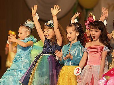 Представление на детский конкурс красоты