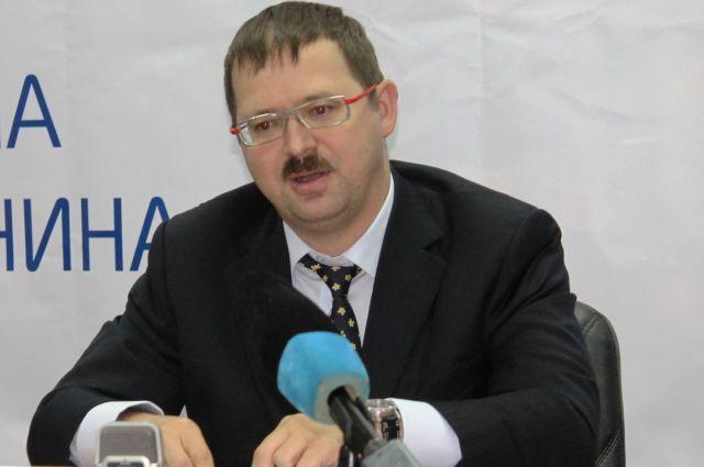 Евгений Торгашин на пресс-конференции