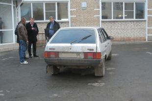 Автомобиль с дагестанскими номерами