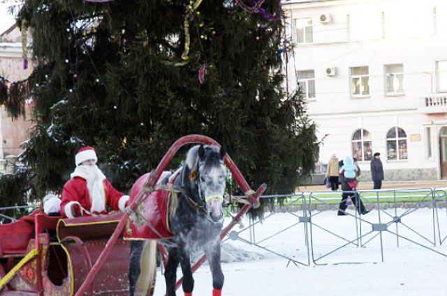 Ярославль транспорт новый год