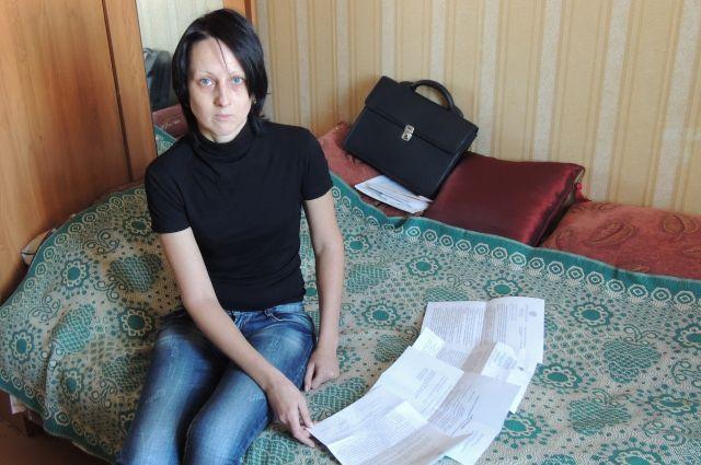 Светлана Гаврилова два года добивается жилья.