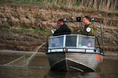 полиция ловит браконьеров