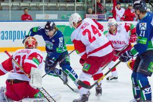 Матч с ХК «Витязь» на домашнем льду