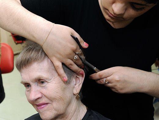Услуга парикмахера