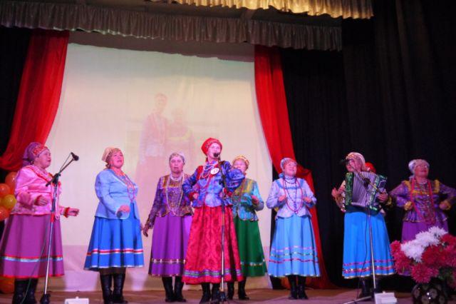 участники районного этапа фестиваля в Ядрине
