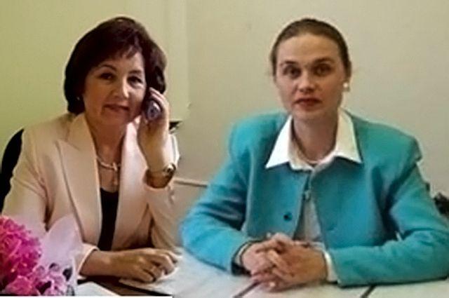 Светлана Старикова (слева), Роза Лизакова (справа)