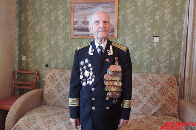 Ветеран войны Николай Беляев.