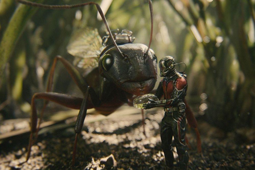 10. Человек-муравей принес своим создателям 518 миллионов долларов, 10 из них – в России.