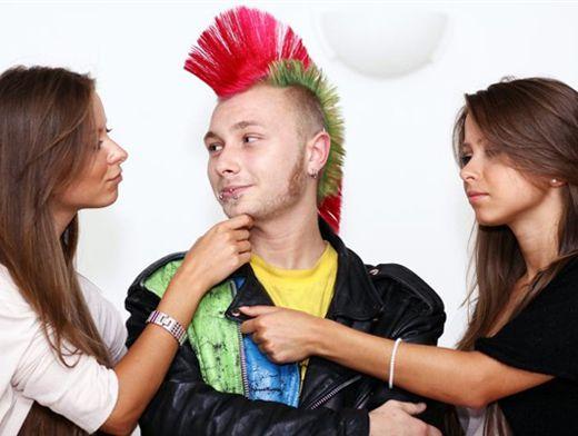Русское взрослая с молодым