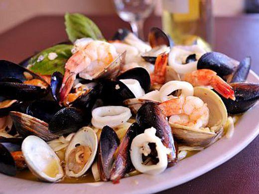 рецепты блюд омской коктейль кальмары мидии