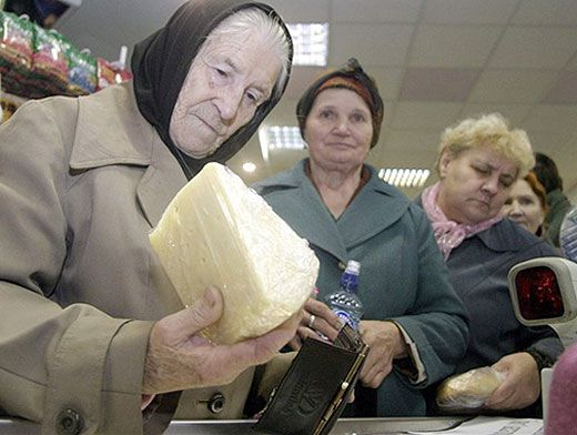 Увеличение пенсий военным их вдовам