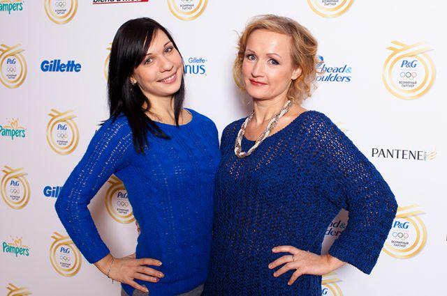 Фигуристка Алена Леонова с мамой Татьяной