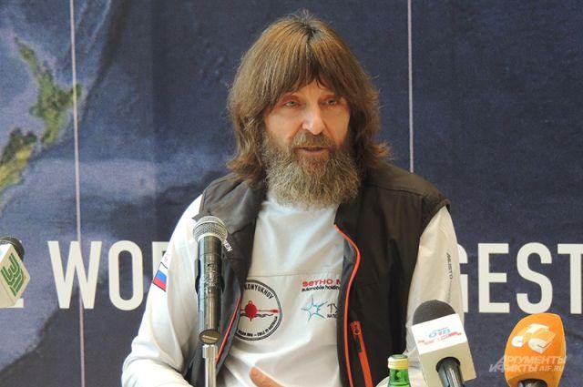 Конюхов выходит в экспедицию в свой 62-й день рождения.