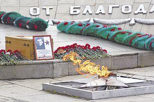Памятник солдатам Великой отечественной войны.