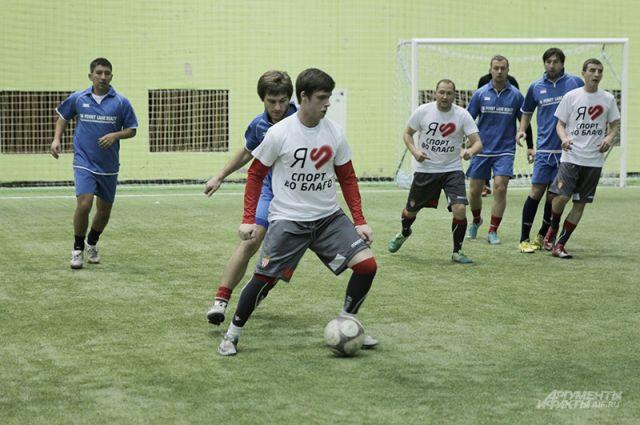 Футболисты-любители в своей игре не уступали профессионалам.