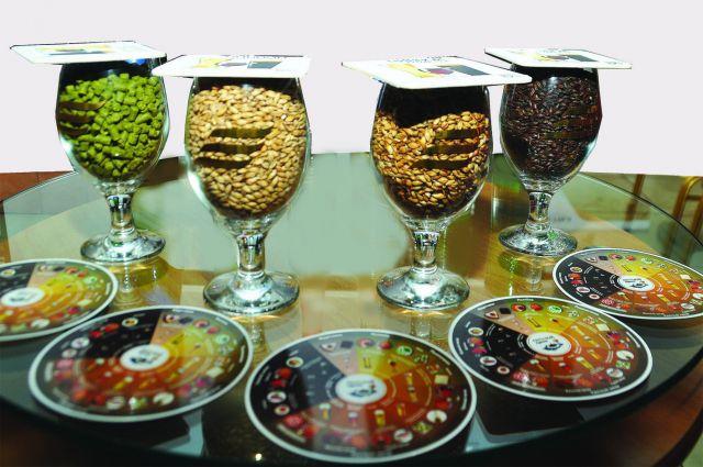 В приготовлении пива используются натуральные хмель и солод.