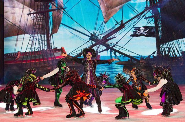 Пираты здесь и танцуют, и поют.