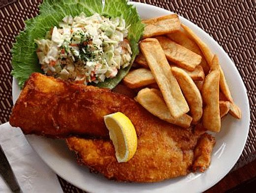 Fish and chips рецепт
