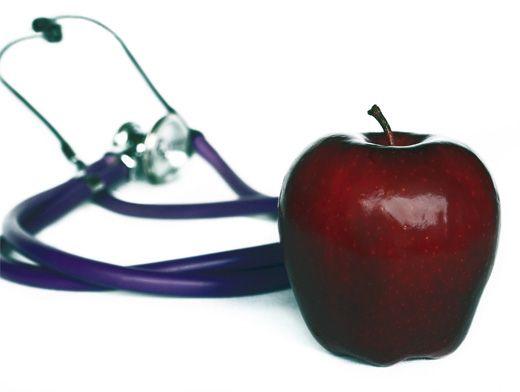 правильное питание яблоки