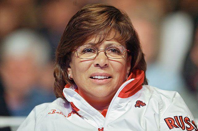 Легенда мирового спорта Ирина Роднина.