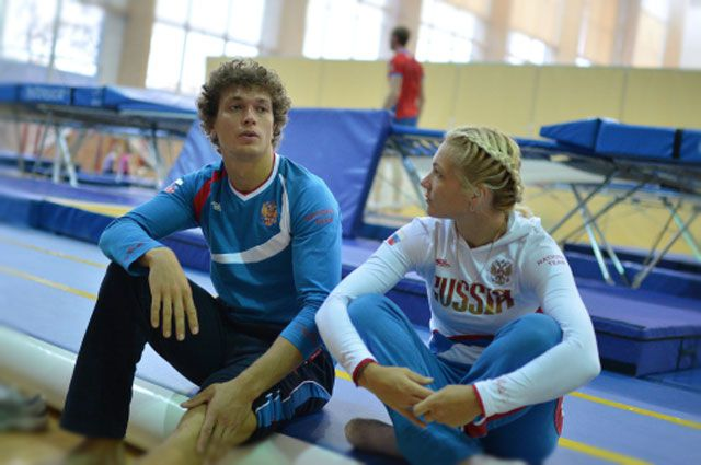 Тимофей и Ассоль Сливец.