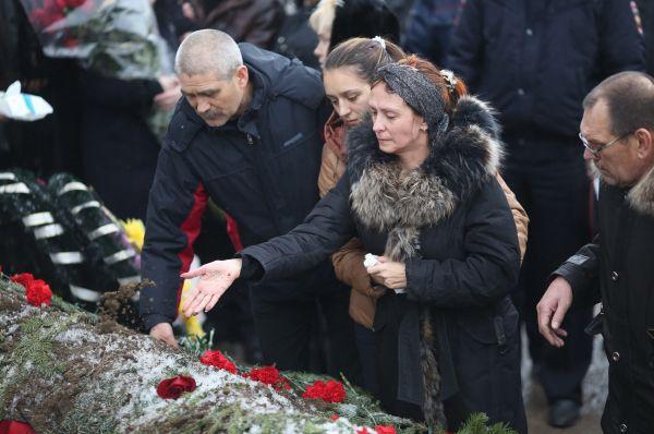 Родственники погибших при терактах в Волгограде.