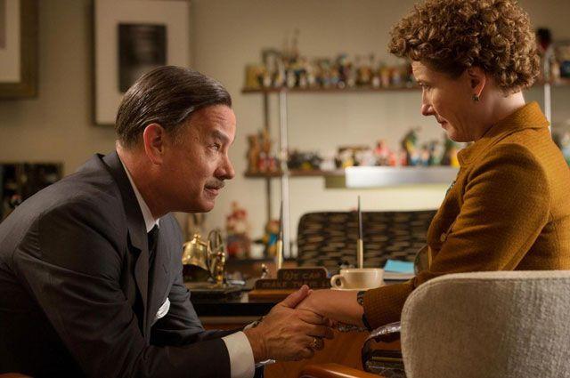 Том Хэнкс и Эмма Томпсон. «Спасти мистера Бэнкса». 2013 год.