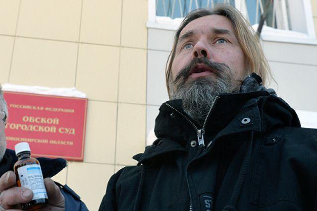 Лидер группы «Коррозия металла» Сергей Троицкий («Паук»).