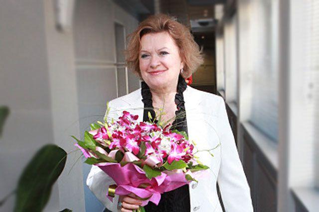 Народная артистка РФ Валентина Талызина.