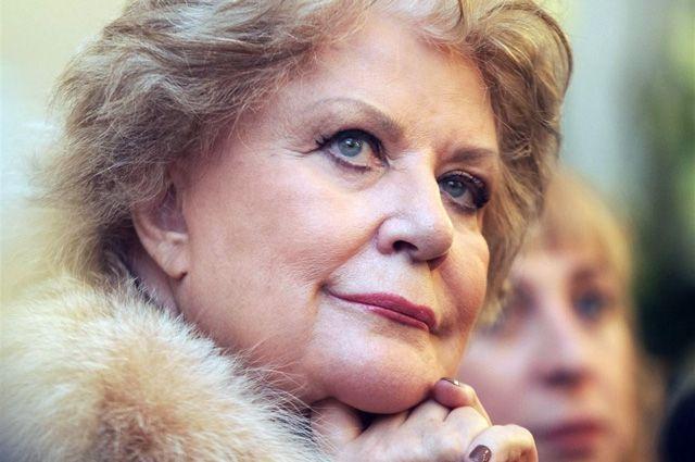 Народная артистка СССР Елена Образцова.