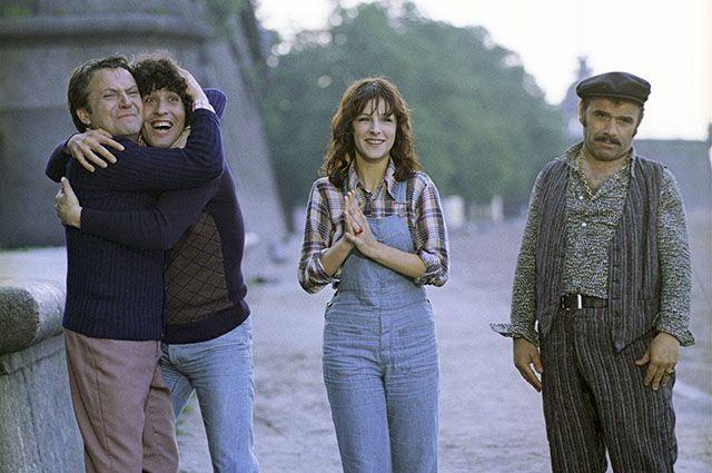 Кадр из фильма «Невероятные приключения итальянцев в России», режиссеры Эльдар Рязанов и Франко Проспери, 1973 год.