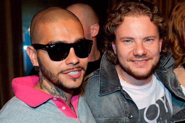 Тимати и Андрей Ширман (DJ Smash) на презентации альбома «23» DJ Smash.