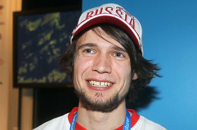 Скелетонист Александр Третьяков